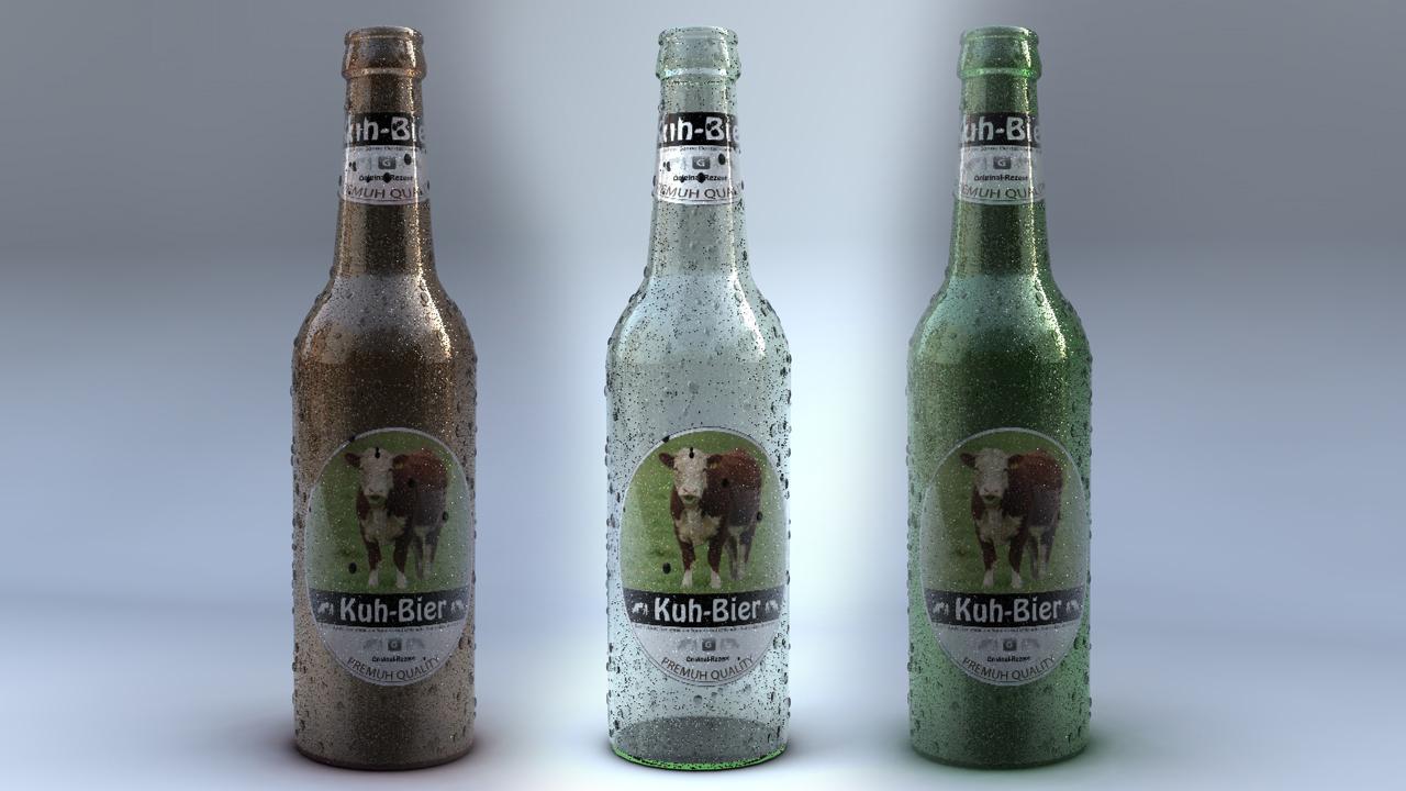 Bierflaschen-Alle