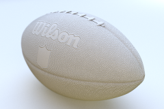 Original Football NFL Clay Render