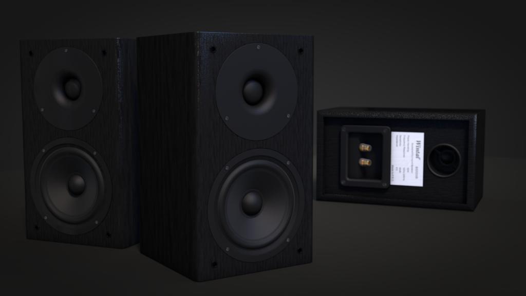 Speaker Wintal in Cinema 4D
