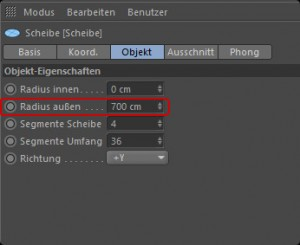 Cinema 4D Attribute Manager